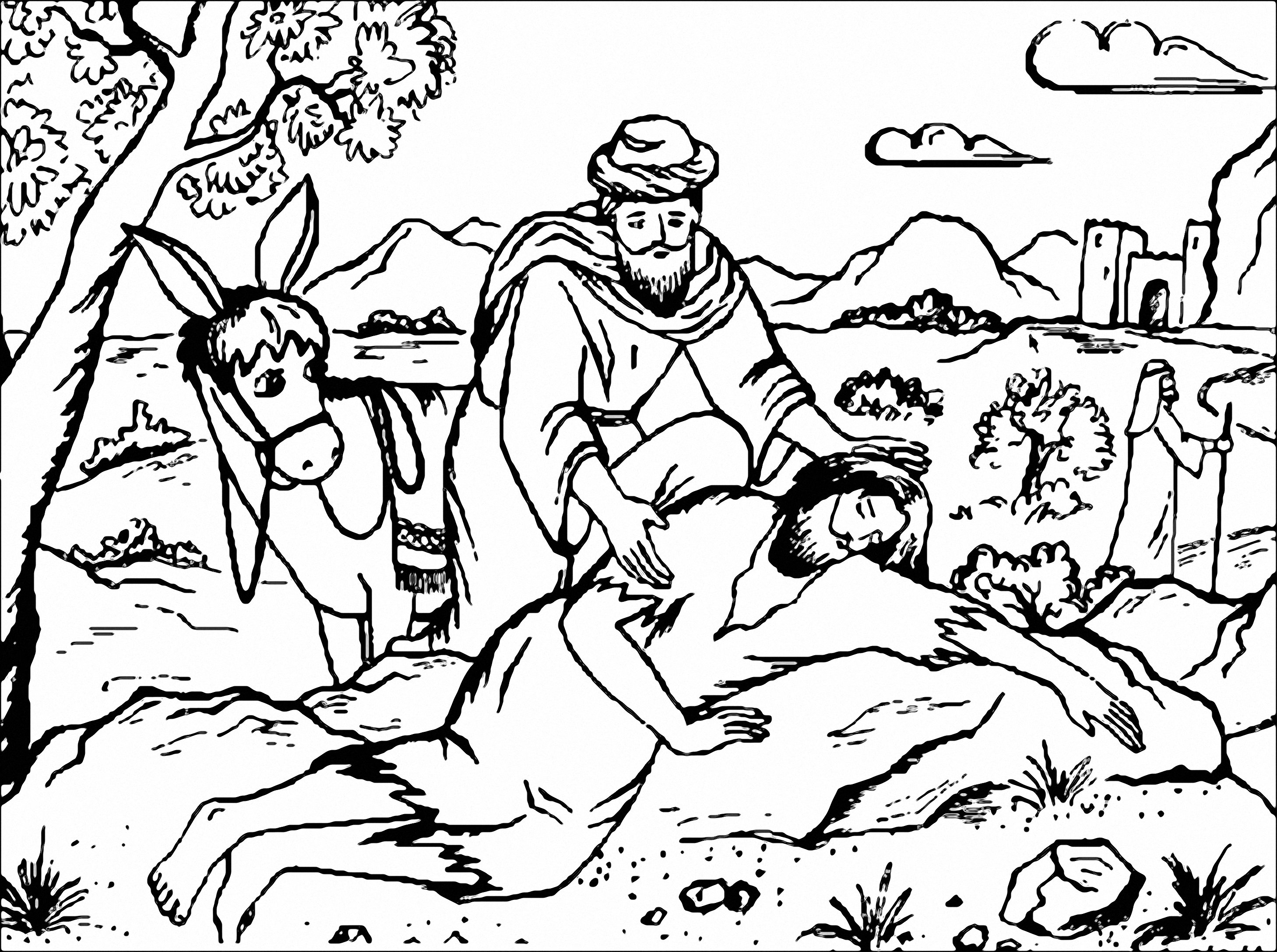 Free Coloring Pages Of The Parable 4 Soils